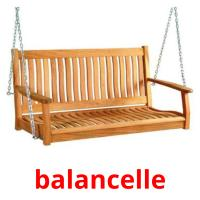 balancelle picture flashcards