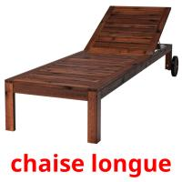 chaise longue picture flashcards