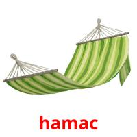 hamac picture flashcards