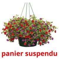 panier suspendu picture flashcards