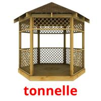 tonnelle picture flashcards