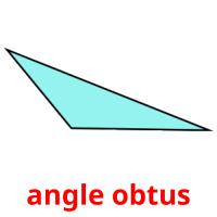 angle obtus picture flashcards