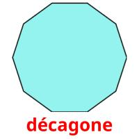 décagone picture flashcards