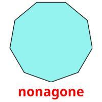 nonagone picture flashcards