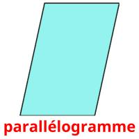 parallélogramme picture flashcards