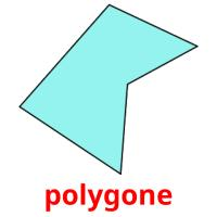 polygone picture flashcards