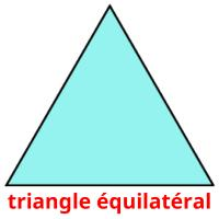 triangle équilatéral picture flashcards