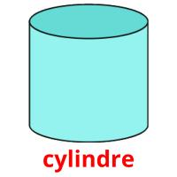 cylindre picture flashcards