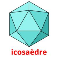icosaèdre picture flashcards