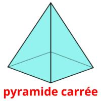 pyramide carrée picture flashcards