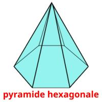 pyramide hexagonale picture flashcards