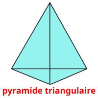 pyramide triangulaire picture flashcards