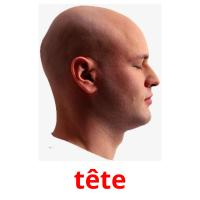 tête picture flashcards