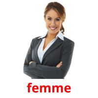 femme picture flashcards