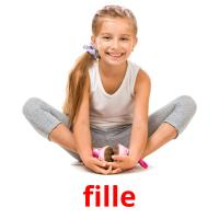 fille picture flashcards