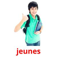 jeunes picture flashcards