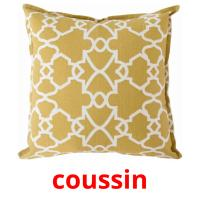 coussin picture flashcards