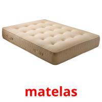 matelas picture flashcards