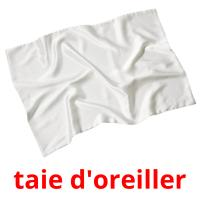 taie d'oreiller picture flashcards