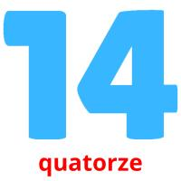 quatorze picture flashcards