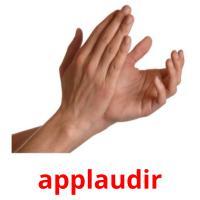 applaudir picture flashcards