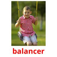 balancer picture flashcards