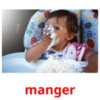 manger picture flashcards