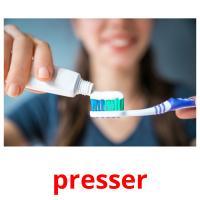 presser picture flashcards