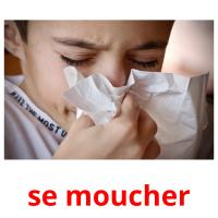 se moucher picture flashcards
