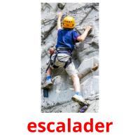 escalader picture flashcards