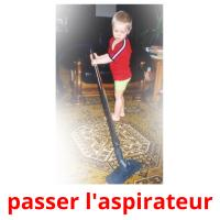 passer l'aspirateur picture flashcards