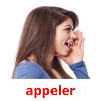 appeler picture flashcards