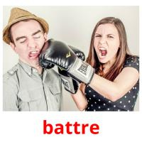 battre picture flashcards