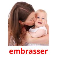 embrasser picture flashcards