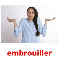 embrouiller picture flashcards