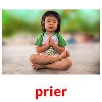 prier picture flashcards