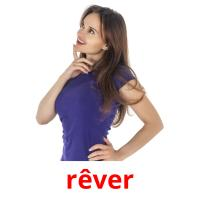 rêver picture flashcards