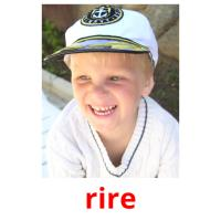 rire picture flashcards