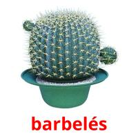 barbelés picture flashcards