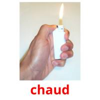 chaud picture flashcards