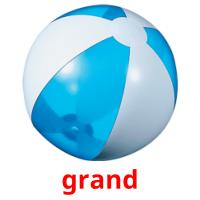 grand picture flashcards