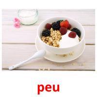 peu picture flashcards
