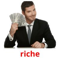 riche picture flashcards