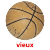 vieux picture flashcards