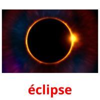 éclipse picture flashcards