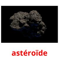 astéroïde picture flashcards