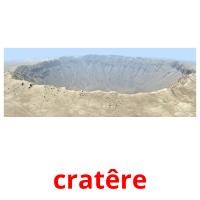 cratêre picture flashcards