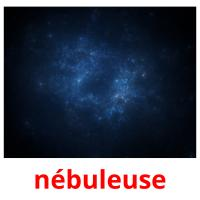 nébuleuse picture flashcards