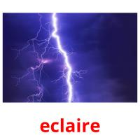 eclaire picture flashcards
