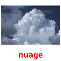 nuage picture flashcards